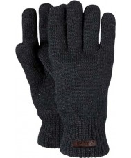 Barts Mens haakon gants noirs