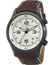 Elliot Brown 202-009-L05 Mens CANFORD cuir marron montre bracelet