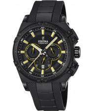 Festina F16971-3 Mens chrono vélo caoutchouc noir montre chronographe