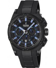 Festina F16971-2 Mens chrono vélo caoutchouc noir montre chronographe