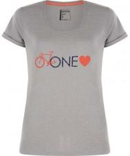 Dare2b DWT319-81I16L Mesdames une cendre de l'amour gris chiné t-shirt - taille uk 16 (xl)