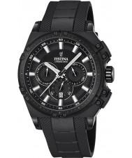 Festina F16971-1 Mens chrono vélo caoutchouc noir montre chronographe