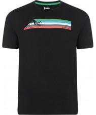 Dare2b DMT322-80040-XS Mens multibande t-shirt noir - taille xs