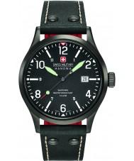 Swiss Military 6-4280-13-007-07 Mens undercover cuir noir montre bracelet