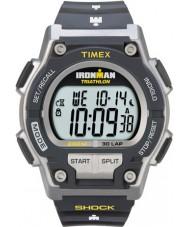 Timex T5K195 Hommes de choc ironman gris résistent 30 tour montre de sport