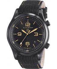 Elliot Brown 202-008-L11 Mens CANFORD cuir noir montre bracelet