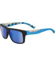 Bolle Clint noir mat bleu gb-10 polarisées lunettes de soleil