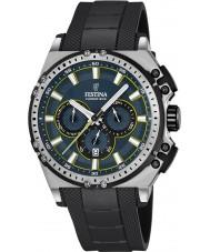 Festina F16970-3 Mens chrono vélo caoutchouc noir montre chronographe