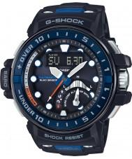 Casio GWN-Q1000-1AER Mens g-shock radiocommandé résine noire de montre bracelet