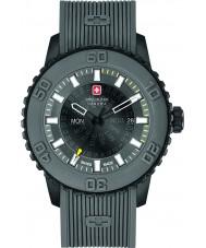 Swiss Military 6-4281-27-007-30 Mens crépuscule gris montre bracelet en silicone