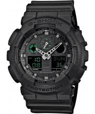 Casio GA-100MB-1AER Mens g-choc mat résine noire montre bracelet