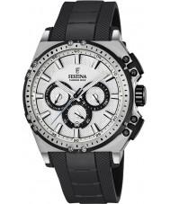 Festina F16970-1 Mens chrono vélo caoutchouc noir montre chronographe