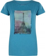 Dare2b Ladies tower above islam blue marl t-shirt