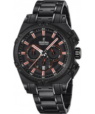 Festina F16969-4 Mens chrono vélo acier noir montre chronographe