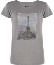 Dare2b Ladies tower above ash grey marl t-shirt