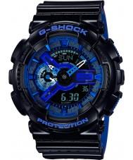 Casio GA-110LPA-1AER Mens g-shock temps du monde résine bleu noir montre bracelet