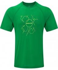 Ronhill T-shirt homme strass hexagonal ss