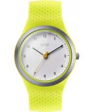 Braun BN0111WHGRL Sport pour femmes silicone vert montre bracelet