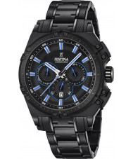 Festina F16969-2 Mens chrono vélo acier noir montre chronographe
