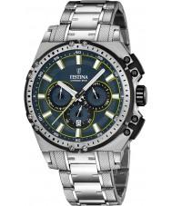 Festina F16968-3 Mens chrono vélo acier argenté montre chronographe