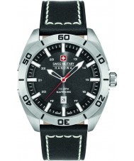 Swiss Military 6-4282-04-007 Mens champion cuir noir montre bracelet