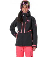 Picture WVT068-BLANP-XS Ladies exa néon noir veste rose - taille xs