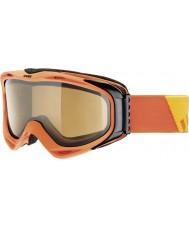 Uvex 5502143021 G.gl 300 décoller d'orange - POLAVISION brun lunettes de ski