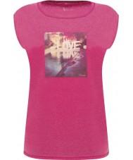 Dare2b DWT327-1Z016L Mesdames repos rose électrique t-shirt - taille uk 16 (xl)