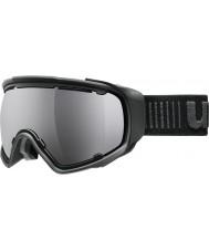 Uvex 5504322026 Jakk riques noir - miroir noir lunettes de ski