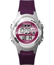 Timex TW5M11100 Mesdames résine violette marathon de montres bracelet