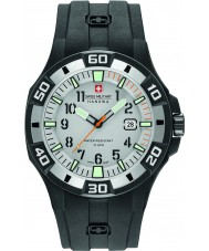 Swiss Military 6-4292-27-009-07 silicone noir de montre bracelet de Mens