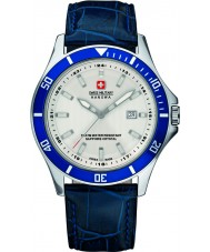 Swiss Military 6-4161-2-04-001-03 Mens phare cuir bleu montre bracelet
