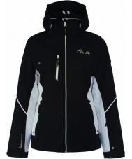 Dare2b DWP334-80010L Ladies lignes gravées veste noire - taille 10 (s)