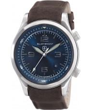 Elliot Brown 202-007-L07 Mens CANFORD cuir marron montre bracelet