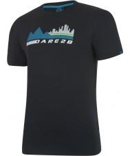 Dare2b T-shirt noir ville ville scène