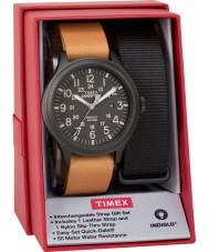 Timex TWG016200 Ensemble de cadeaux de montre d'expéditeur pour hommes
