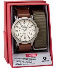 Timex TWG016100 Ensemble de cadeaux de montre d'expéditeur pour hommes