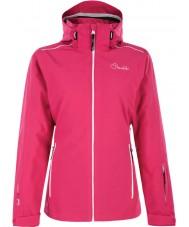 Dare2b DWP305-1Z006L Mesdames travailler jusqu'à électrique veste rose ski - taille uk 6 (XXS)