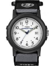 Timex T49713 Mens blanc campeur noir montre de l'expédition