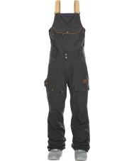 Picture MPT055-BLACK-M Pantalon de ski pour homme yakoumo 2 bib