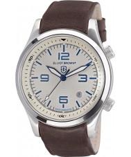 Elliot Brown 202-001-L09 Mens CANFORD cuir marron montre bracelet