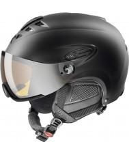 Uvex 5661622205 Hlmt 300 noir casque de ski avec visière lasergold - 55-58cm