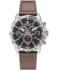 Swiss Military 6-4251-04-007 Mens ace chrono cuir marron montre bracelet