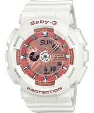 Casio BA-110-7A1ER Ladies baby-g le temps du monde résine blanche montre bracelet