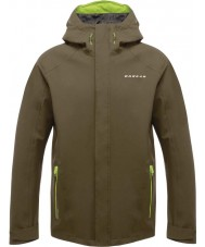 Dare2b DMW371-3C435-XXS disposition Mens ii camo vert veste de coquille imperméable - taille XXS