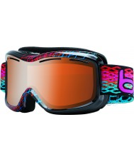 Bolle 20938 Monarch diamant noir - modulateurs agrume gun lunettes de ski