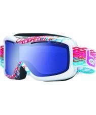 Bolle 20940 Monarch diamant blanc - aurora lunettes de ski bleu