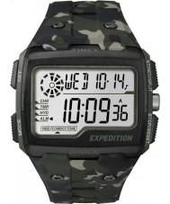Timex TW4B02900 Mens expédition kaki choc numérique montre camo chrono