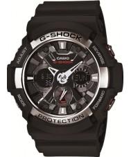 Casio GA-200-1AER Mens g-shock temps du monde montre chronographe noir