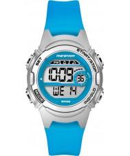 Timex TW5K96900 Mesdames marathon taille moyenne résine bleue montre bracelet chronographe